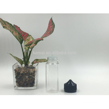 Bouteille d'huile de PET de 120 ml avec tampon imperméable à l'eau