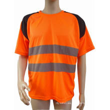Camiseta reflexiva de seguridad de alta calidad