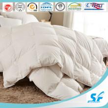 Одеяло / одеяло / одеяло из чистого хлопка с перьями гусиного пуха для дома