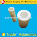 Ptfe tubo alinhado, tubo moldado puro, tubo de PTFE ondulado