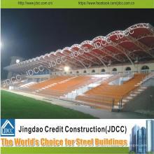 Vorgefertigte leichte Stahlkonstruktion Stadion Tribünen