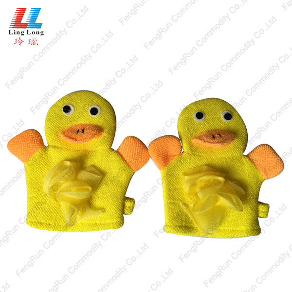 Yellow cartoon gloves