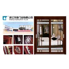 Doppel-Design Aluminiumlegierung Badezimmer Innentür