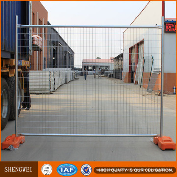 Residential Building Hot-Dipped Galvanized Au Temporary Fence