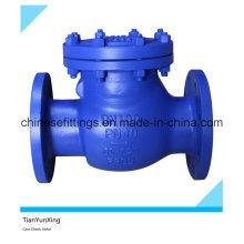 DIN EN1092-1 Фланцевый литой стальной невозвратный клапан
