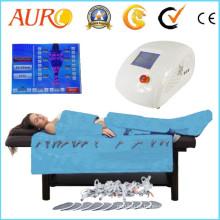 3 em 1 equipamentos de massagem por infra-vermelhos Pressoterapia com EMS