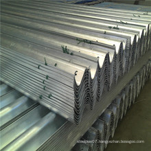 W Beam Galvanized Highway Guardrail
