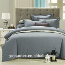 Conjunto de ropa de cama de color sólido