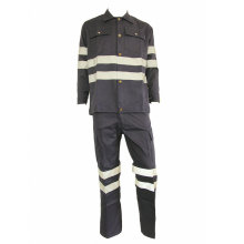 Welder Labour Work Suit with Reflective Tapes