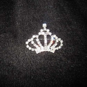 Crystal Crown Sash Pins