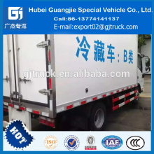 Chine camion réfrigéré JAC mini 4x2 camion isolé isotherme réfrigéré boîte camion réfrigéré panneau isolé