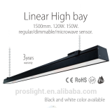 120cm 100W led linear pendant light with 3 years warranty