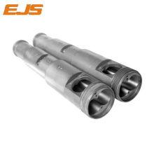 Hart-PVC verarbeitet Extrusion Bimetall Twin barrel