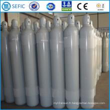 Cylindre de gaz en acier sans couture à haute pression de 68L (ISO267-68-15)