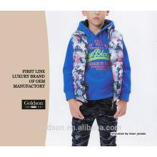China manufactury niños sin mangas abajo chaqueta / muchacho abajo chaleco