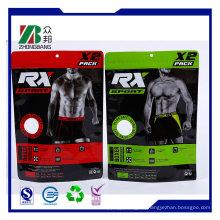 Kundenspezifische Marke Ziplock Plastiktasche für Kleidung