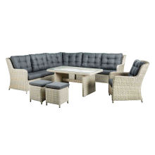 Garden Wicker Sectional Outdoor Rattan Sofa Lounge Patio Set