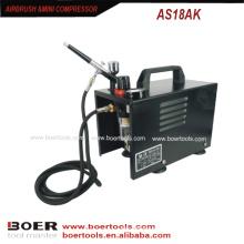 Аэрограф комплект мини компрессор портативный воздушный компрессор мини компрессор
