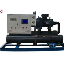 Low Temperature Water Cooled Screw Chillers Condensing Unit