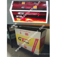 OEM, GT BATERIA, bateria seca, bateria MF, produção licenciada