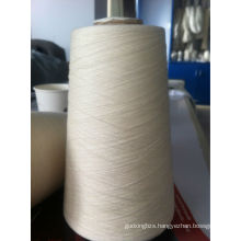 30% Fine suede/ 30% long stapled cotton/40% Mulberry leaf fiber yarn blended yarn Mulberry leaf fiber yarn new kind of yarns