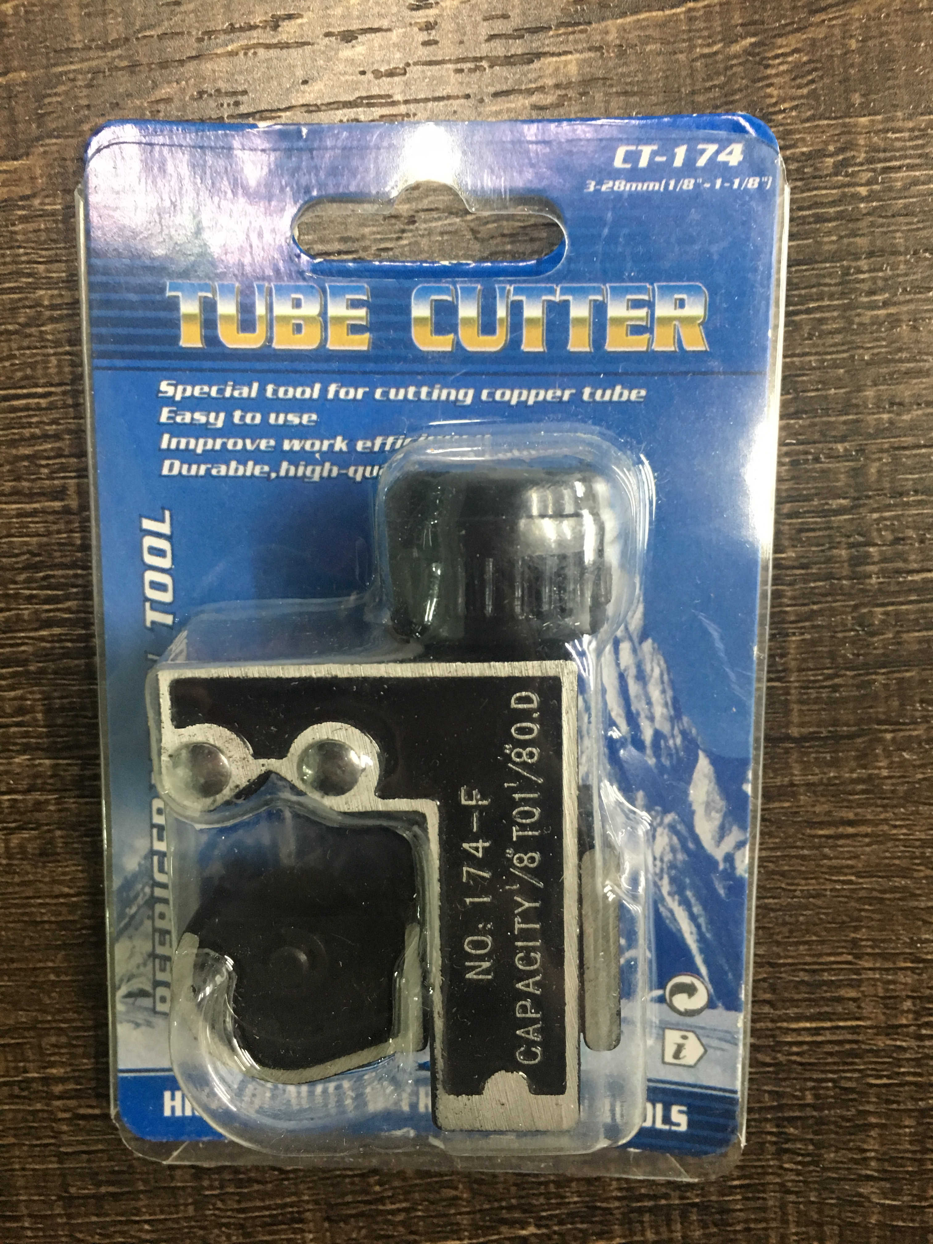 service tool tube cutter