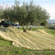 Excelente qualidade nova vinda colheita hdpe recolher redes de oliveiras
