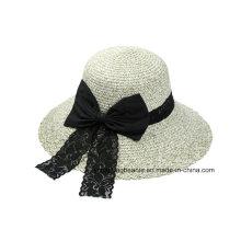 Новая фетровая шляпа Fedora Bowknot для женщин