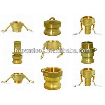 Brass quick connect air fittings