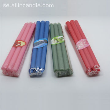 Middagsdekoration Smooth Surface Color Stick Candle