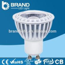 Aluminio 5W llevado proyector de la mazorca, COB Gu10 LED Proyector, CE RoHS