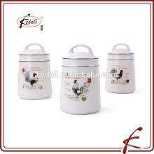 Cocina cerámica comida café té recipiente