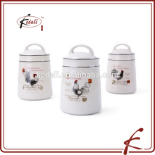 kitchen ceramic food coffee tea canister