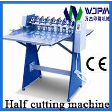 Máquina de corte medio adhesivo automático