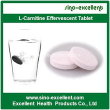 Best Price for for Multi-Plants Extracts Softgel L-Carnitine Effervescent Tablet export to Peru Manufacturers