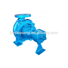 Horizontal centrifugal canned pump