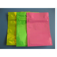 Material plástico e Zipper Top selagem impresso sacos ziplock