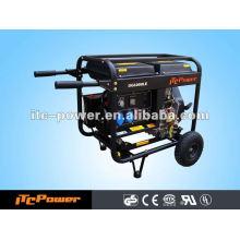 ITC-Power 5KVA DIESEL GERADOR SET com empurrar roda