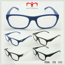 Latest Trendy Design Men′s Reading Glasses with Metal Decoration (MRP21389)