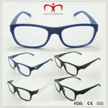 Mais recente moda design homens lendo óculos com decoração de metal (MRP21389)
