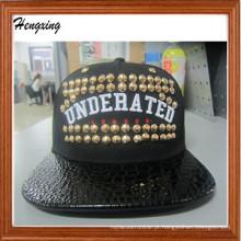 Novo estilo Snapback bonés e chapéus com rebite
