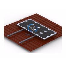Панели солнечных батарей для домашнего использования система установленная на Этернит крыши