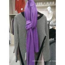 Bufanda mezclada de la cachemira de la lana de la venta caliente