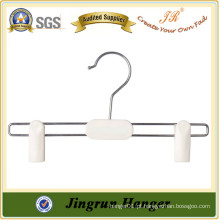 New Promotion Plastic Pants Hanger Popular White Kids Hanger