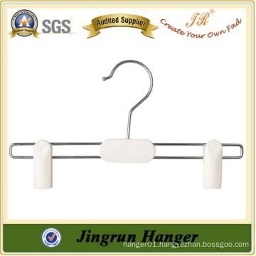 New Promotion Plastic Pants Hanger Popular White Kids Hanger