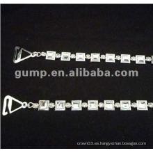 Correas de metal sujetador de diamante (GBRD0166)