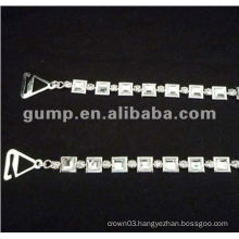 metal diamond bra straps ( GBRD0166)