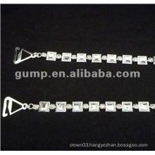 metal diamond bra straps ( GBRD0166)