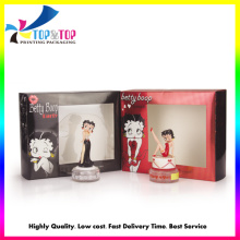 OEM Production Fancy Folding Paper Window Gift Boxes