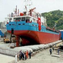 bolsa de aire de goma neumática para barcos y barcos